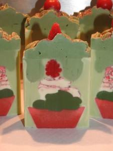 savon cupcake en pain